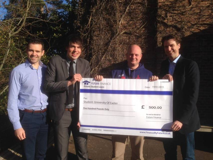 Exeter Mature Student Awareness Programme receives £500 Scholarship | Future Finance