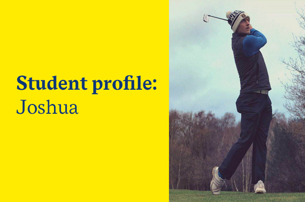 Student loan, profile: Joshua, Royal Holloway | Future Finance