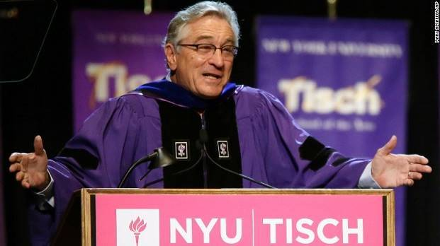 Robert De Niro graduation commencement speech