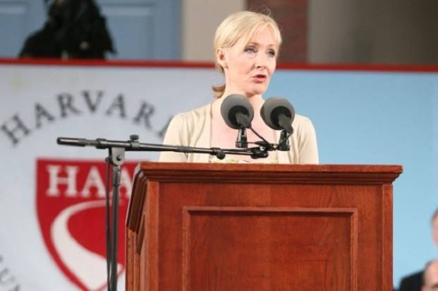 JK Rowling graduation commencement speech